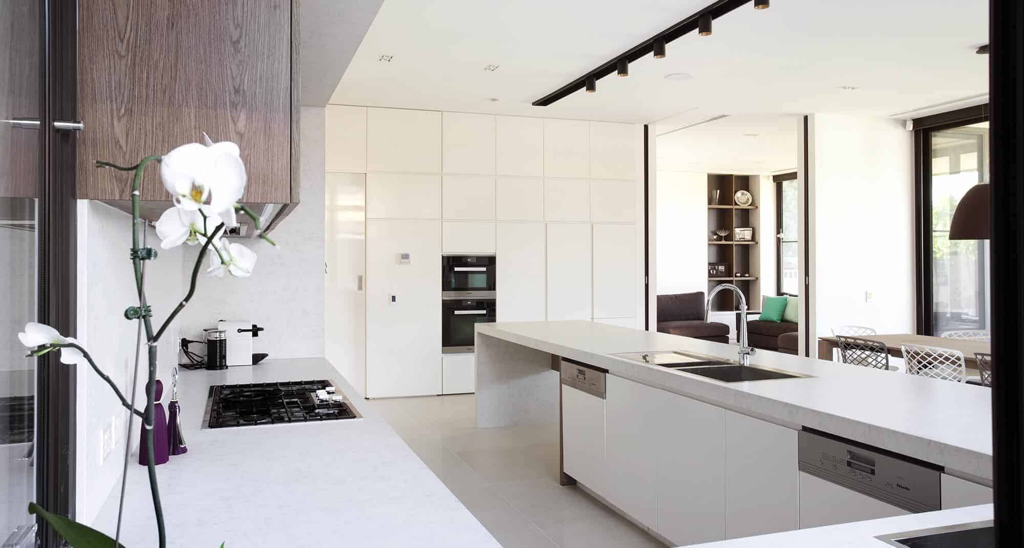 kitchen white design